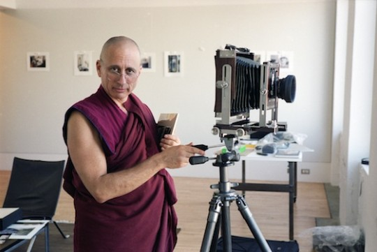 Khen Rinpoche Nicholas Vreeland. Photo by Adam Bartos.