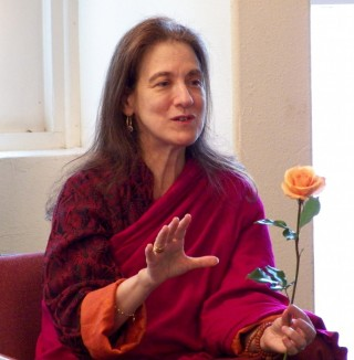 Anne Klein teaching. Photo courtesy of Anne Klein.