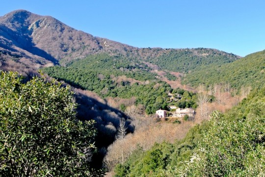 Tushita Retreat Centre, Arbúcies, Montseny, Spain. Photo courtesy of Tushita Retreat Centre.