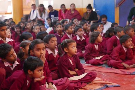 Maitreya School Children