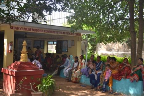 Shakyamuni Buddha Community Health Care Clinic.