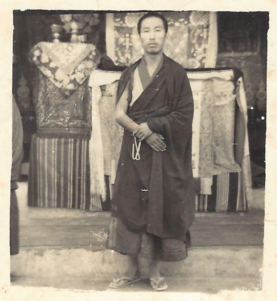 Geshe Dhonden Buxaduar 1963