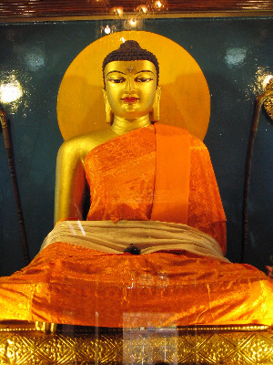 Buddha - Bodh Gaya robes from LZR