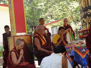 Consecration of the Land of Medicine Buddha Prayer Wheel