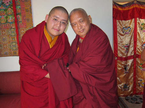 the connections between rinpoche and otto
