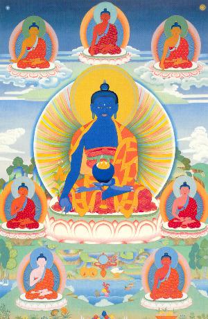 Medicine Buddha Peter Iseli 8MBs