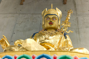 Guru Rinpoche statue at Great Stupa of Universal Compassion near Bendigo, Australia. Photo by George Manos.