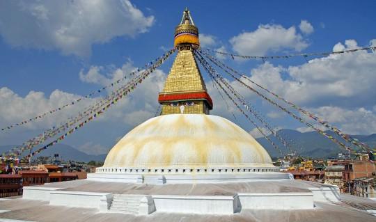 Bouddhanath Stupa, Nepal.