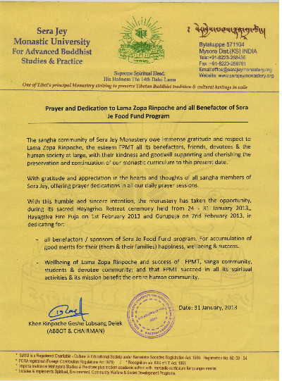 latter from Sera Jey Jan 2013
