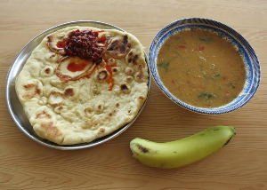 wed dahl bread banana