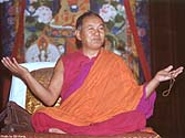 Lama Thubten Yeshe. Photo by Bill Kane.