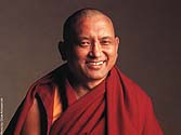 Lama Thubten Zopa Rinpoche. Photo by Clive Arrowsmith.