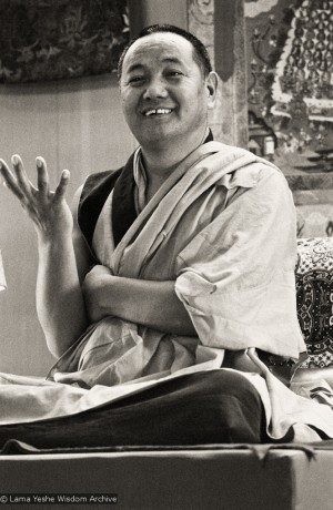 A Word from Lama Yeshe on the Absolute and Relative Guru