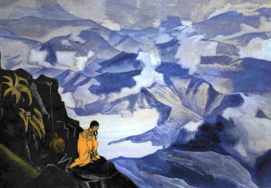 """Drops of Life"". From Nicholas Roerich Museum, used by permission."