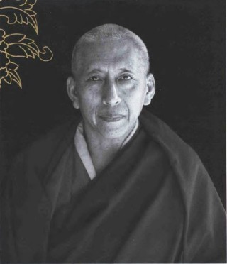 Samdhong Rinpoche from Portraits of Tibetan Masters by Don Farber, California Press 2005.
