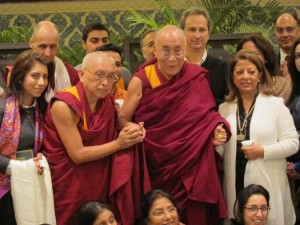His Holiness in Delhi for the 30th Tushita Dharma Celebration