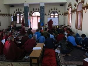 Rinpoche in Varanasi and Sarnath