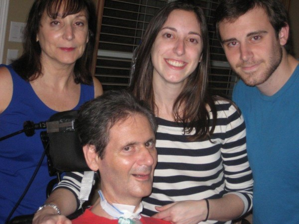 Bob Brintz with his wife Susan, daughter Carrie and son Ben