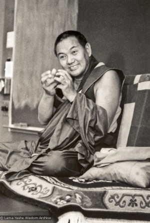 Lama Yeshe Teaches on 'Karma, Reality and Belief'