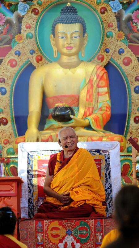 Nalanda Monastery Completes Pujas for Rinpoche's Health