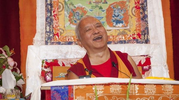 Lama Zopa Rinpoche Comes to Vajrapani Institute