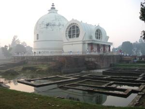 Kushinagar, India, October 2012. Photo by Jon Landaw.