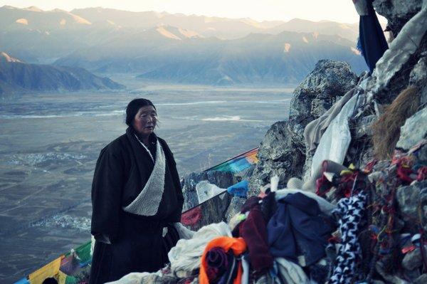 Korwa route at Ganden Monastery, Tibet. Photo by Matt Lindén.