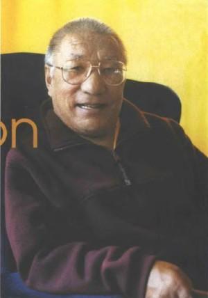 Khenpo Tsültrim Gyamtso Rinpoche. Photo by Ryszard K. Frackiewicz.