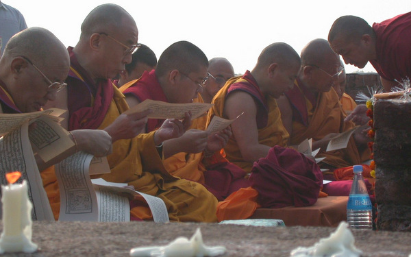Rajgir, HHDL and LZR text, Jan, 02