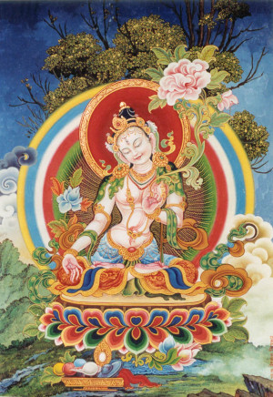 White Tara in the Newari style