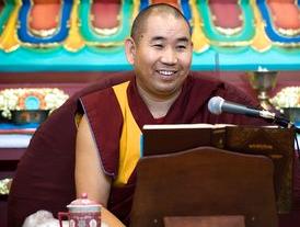 Geshe Lobsang Jamphel, abbot of Nalanda Monastery. Image www.nalanda-monastery.eu.
