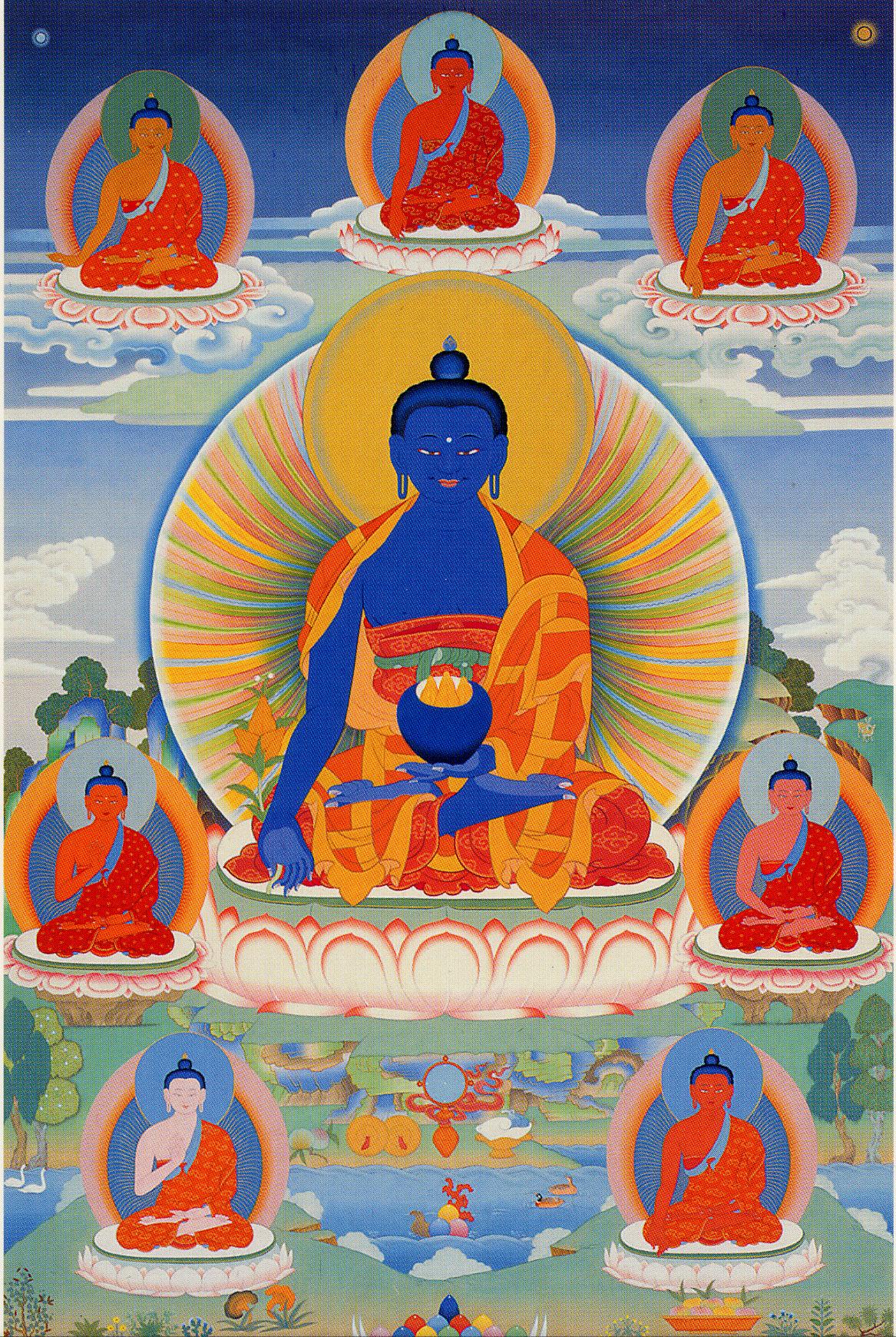 Medicine Buddha - Peter Islie