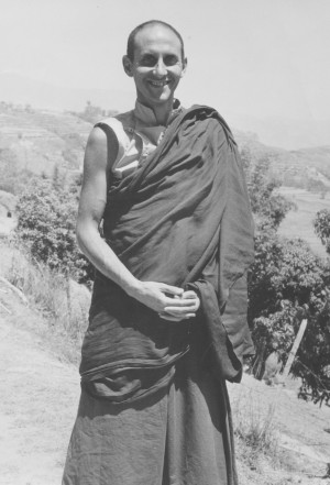 Nick Ribush, Kopan, Nepal 1974. Photo by Beth Hamby.