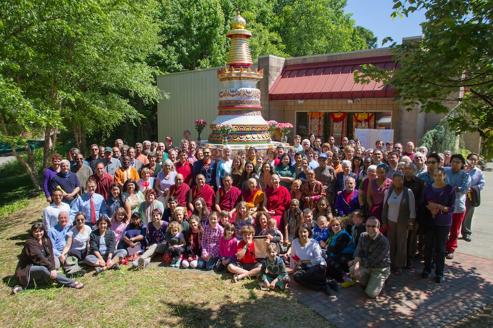 Stupa Dedication Kadampa Center May 2013