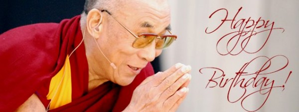 Image by Louise Light shared on the occasion of His Holiness the Dalai Lama's birthday