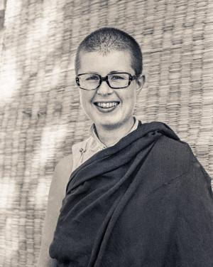 Ven.MargaretatKopan,1976. Photo courtesy of Lama Yeshe Wisdom Archive.