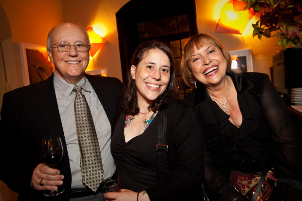 Alison Harr with parents Bruce and Pearl