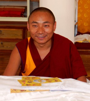 Geshe Thubten Jinpa, Sera Je Monastery, 2012. Photo by Bill Kane.