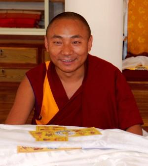 GesheThubtenJinpa,SeraJeMonastery,2012.PhotobyBillKane.