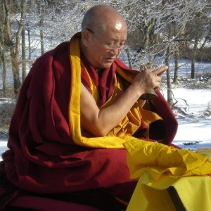 Gyumed Khensur Lobsang Jampa, Connecticut, US. Photo courtesy of Lorne Ladner.