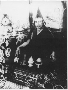 The 16th Drakar Rinpoche of Drakar Taso Monastery (Kushok's paternal uncle). Photo courtesy of Wisdom Publications