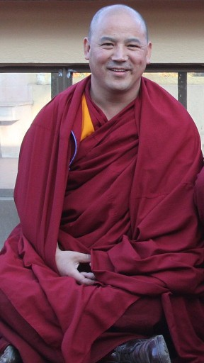 Geshe Lobsang Sherab at Kopan Monastery, December 2009