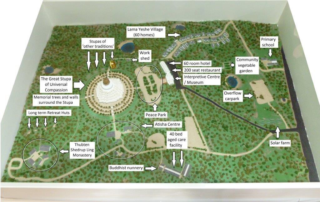 Great stupa master plan