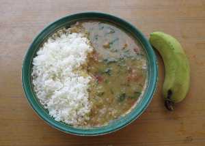 rice and dahl