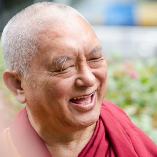 Lama Zopa Rinpoche, Land of Medicine Buddha, California, September 21, 2013. Photo by Chris Majors.