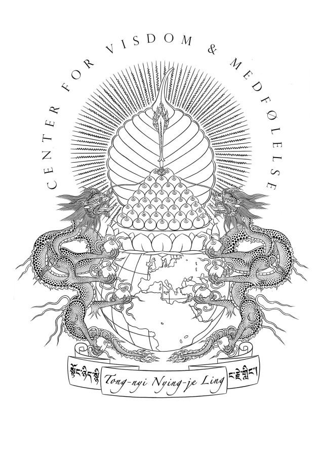 Tong-nyi Nying-je Ling's logo