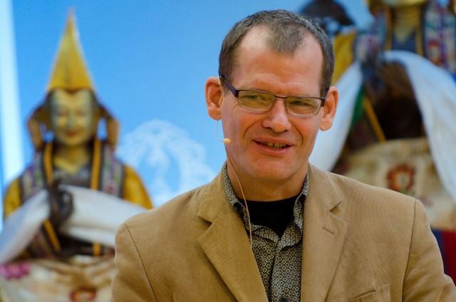 John Dunne, 2013 Maitripa College Buddhism & Science Symposium, Portland, Oregon, US, October 2013. Photo by Marc Sakamoto.