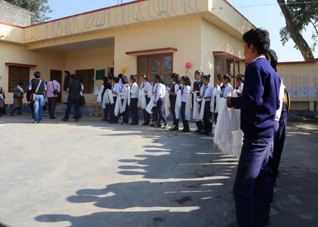 TheBylakuppeSchoolforTibetans, India, December 2013. Photo by Ven. RogerKunsang.