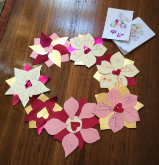 Crafts help children and parents alike engage with basic Buddhist values. Photo courtesy of Vajrayana Institute.