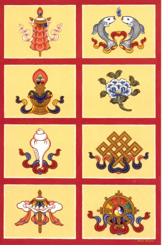 Eight Auspicious Signs by Andy Weber.